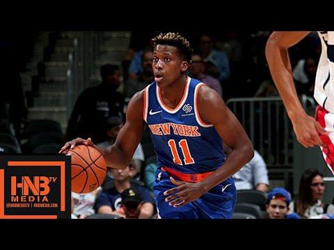 New York Knicks vs Washington Wizards 1st Half Highlights | 01.10.2018, NBA Preseason