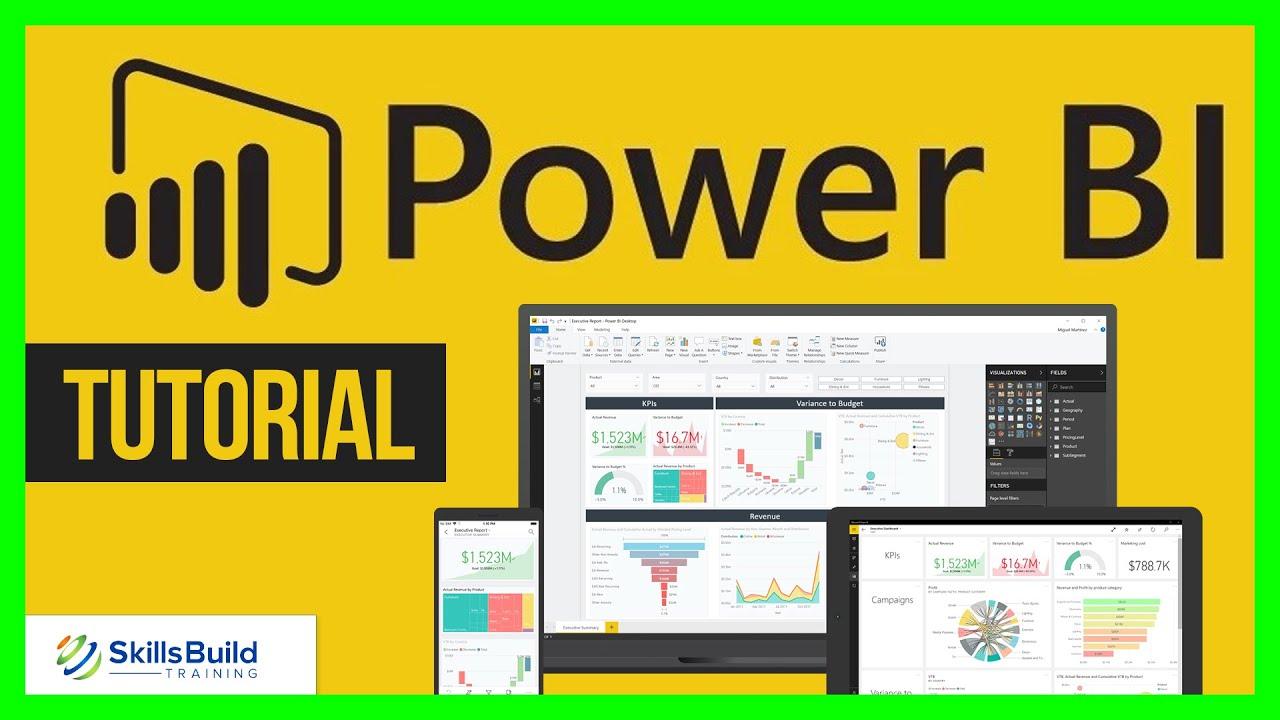 Power BI Tutorial for Beginners 🔥 Desktop to Dashboard