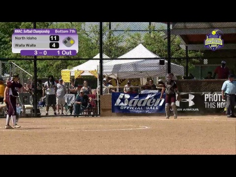 NWAC Softball Championship - Walla Walla vs North Idaho