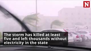 Florida eyewitness video shows Irma destruction