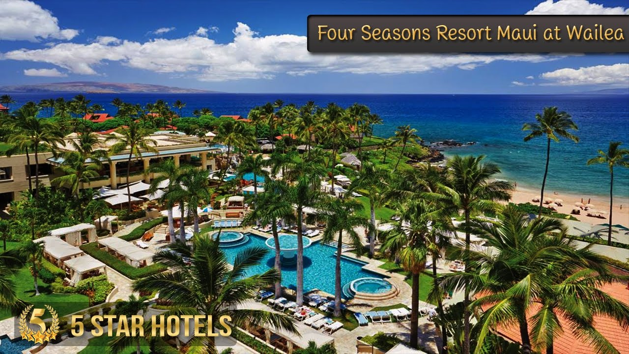 5 star four seasons resort maui at wailea hotels in hawaii for Nicest hotels in maui