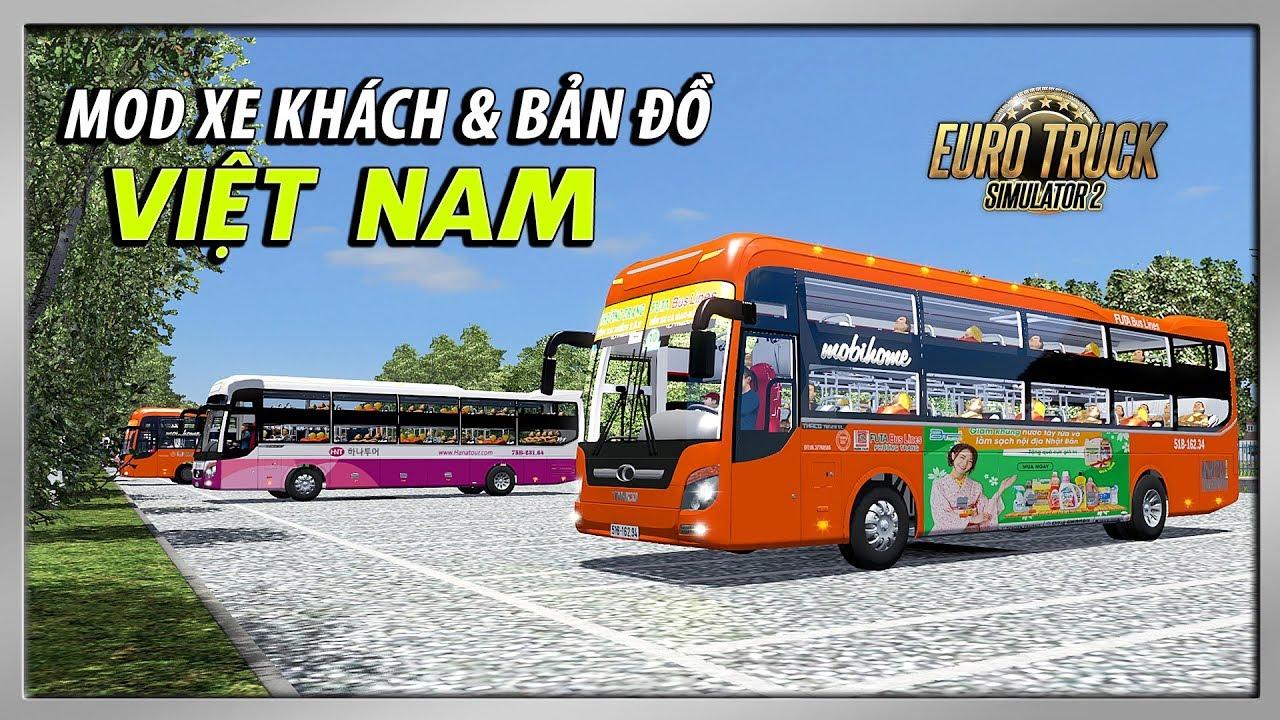 Cách Chơi Game Lái Xe Khách Trên Bản Đồ Việt Nam