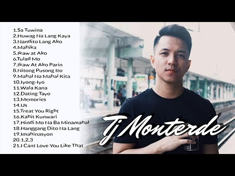 Tj Monterde Songs 2017 nonstop Collection.  Best songs of Tj Monterde