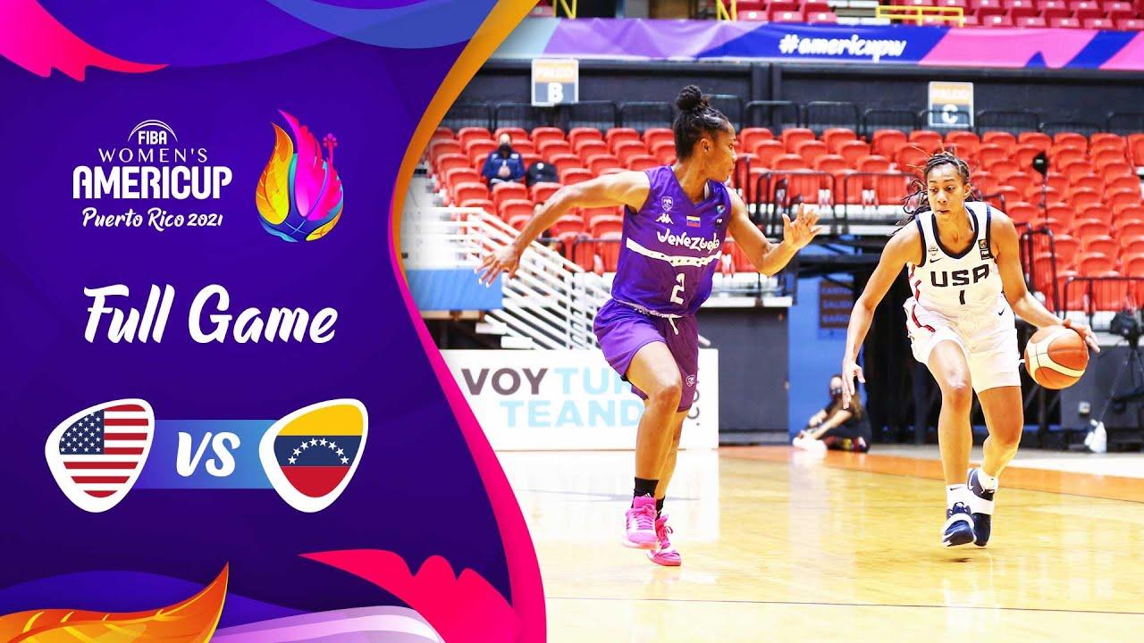 USA v Venezuela | Full Game - FIBA Women's AmeriCup 2021