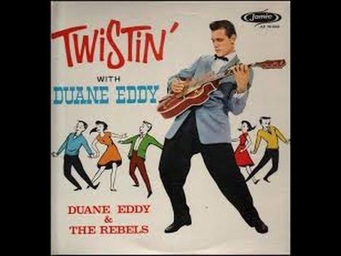 Duane Eddy & The Rebels - Twistin'   /Moovin' and Groovin' -Jamie Records 1962