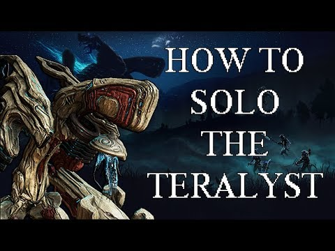 Warframe - How To Solo The Teralyst (Complete Guide)