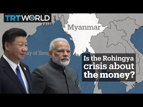 Is the Rohingya crisis about money?