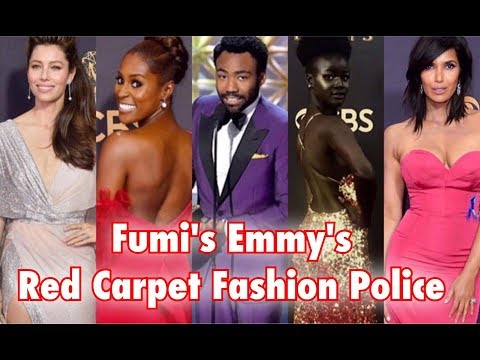 FUMI'S FASHION POLICE - EMMY'S 2017 BEST DRESSED RED CARPET REVIEW