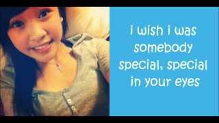 Erica Vidallo - Somebody Special (lyrics)