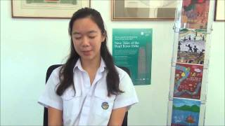 Elin Chan - HKYWA 2014 Winner Non-fiction Group 3 on what winning the competition means to her.