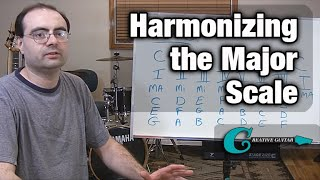 Music Theory - Harmonizing the Major Scale