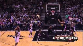 How tony parker and tim duncan run the oldest play in the book: spurs dribble pitch