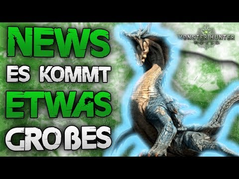 NEWS Es kommt etwas neues zu MHW - Special Developer Update - Monster Hunter World Deutsch