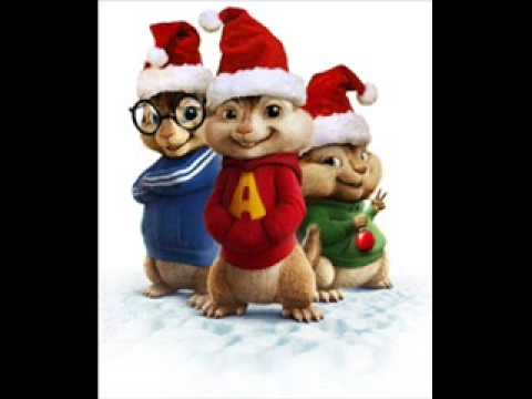 i Saw mommy kissing santa claus chipmunks version