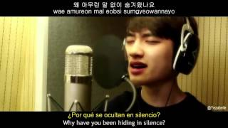[MV] D.O (디오) - Crying out (CART OST) [Sub Español + Hangul + Rom]