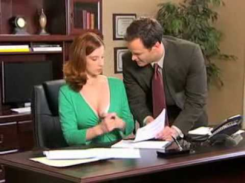 Boss play with secretary boob - 5 1