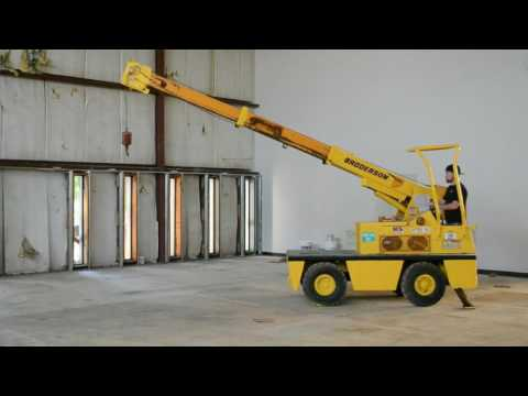 Broderson IC-20-1D 2.5 Ton Carry Deck Diesel Crane
