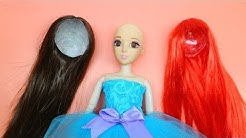 How to make a Doll Wig