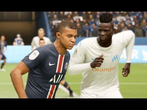 Psg Vs Om Nouveaux Maillots 2020 Fifa 19 Kit Probable Youtube