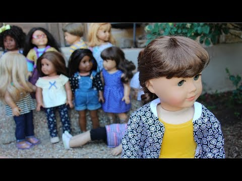 Family Photos! (American Girl Doll Stopmotion REMAKE)