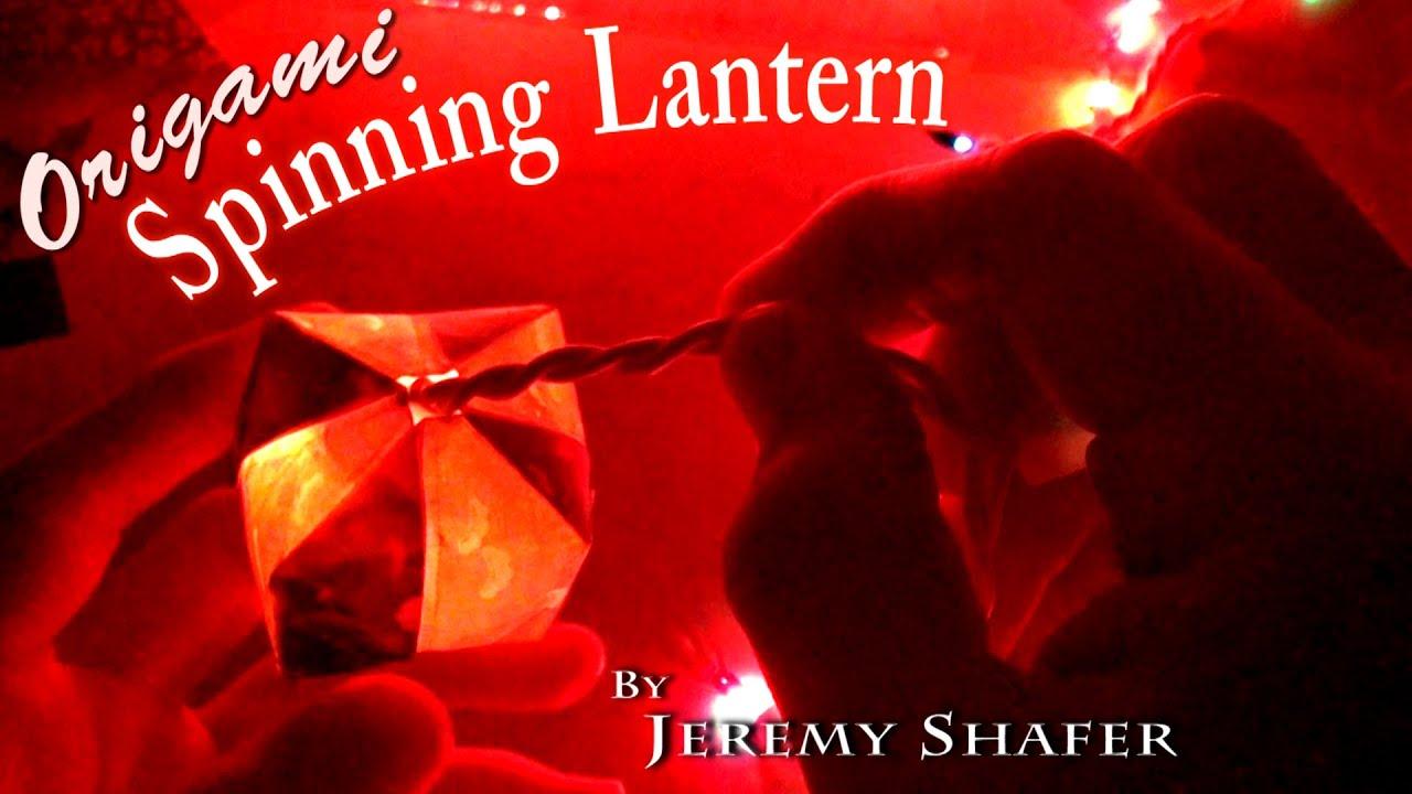 Papercraft Origami Spinning Lantern