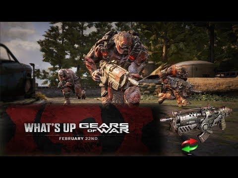 WHATS UP GEARS #4 |CAMBIOS EN LA HAMERBUST | ACTUALIZACION GEARS OF WAR 4