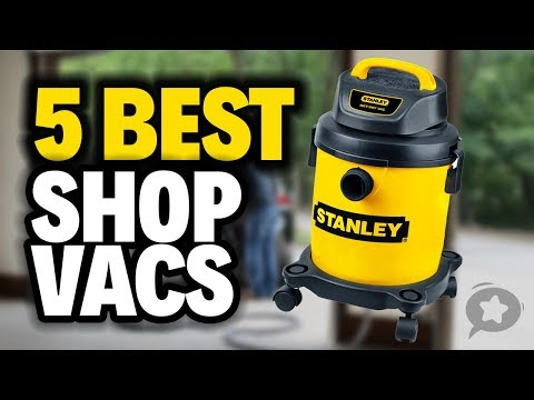 5 Best Shop Vacs 2019 - Handle The Toughest Cleaning Jobs