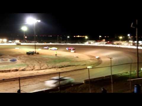 imca hobbystock heat race 2-21-15