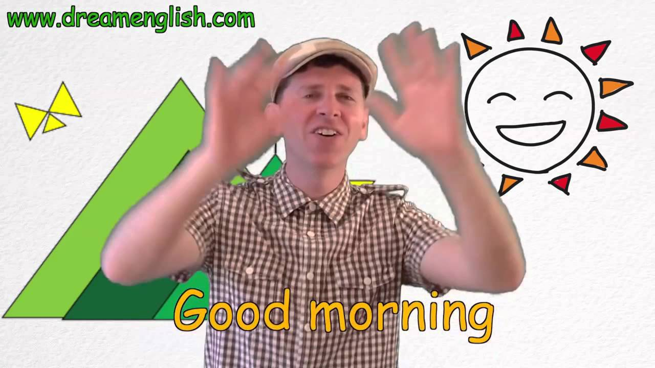 Good Morning Song For Children | Learn English Kids - YouTube