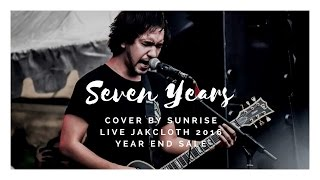 Download Saosin - Seven Years (Cover by Sunrise Live Jakcloth 2016 Year End Sale) MP3 song and Music Video