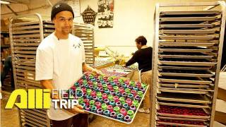 Alli Skate Videos - Field Trip: How Bones Wheels Are Made + Factory Tour with Jordan Hoffart