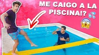 puedo-cruzar-una-piscina-con-un-puente-de-cinta-americana