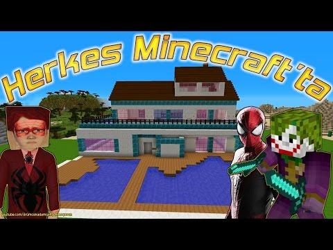 Örümcek Adam Joker ve Örümcek Çocuğun Minecraft Macerası Yeni Bölüm Videoları