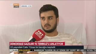 22 Yaşında Bir Bacağını Kaybetti - Demokrasi Gazisi - TRT Avaz