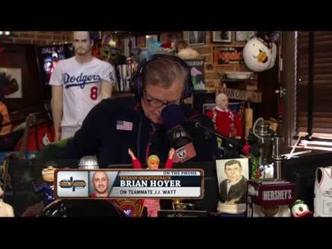 Brian Hoyer compares JJ Watt to Tom Brady (8/13/15)