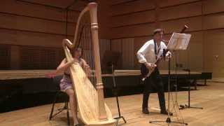 Antonio Vivaldi Sonata for bassoon and harp in A minor.Roman Reznik,Delphine Constantin -Reznik