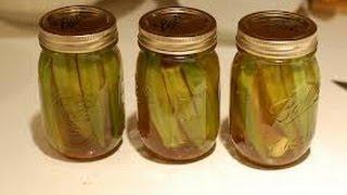 Pickled Okra - Healthy Food - Diabetic Food - How To