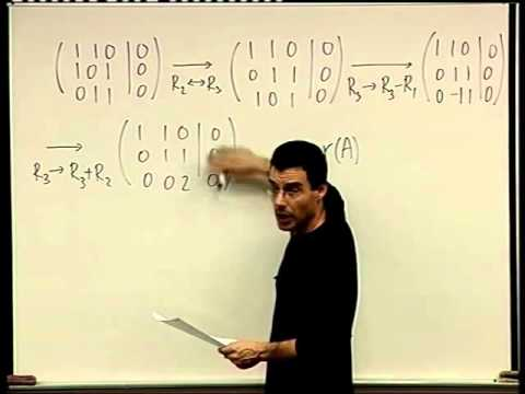 29 -  Determining linear independence