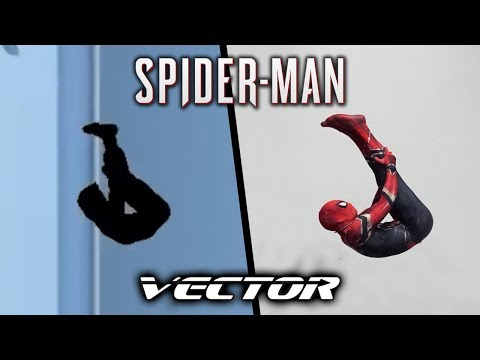 Spiderman Does All Tricks From Vector In Real Life (Parkour)