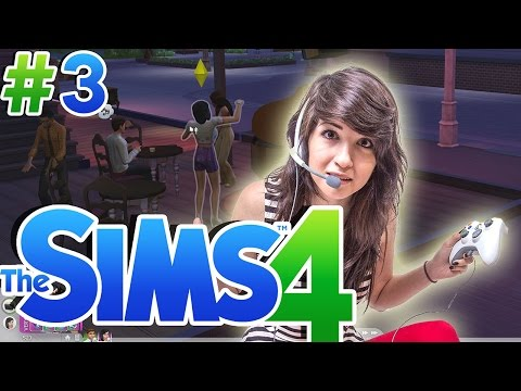 The Sims 4: ASK IF SINGLE THEN GO TO THE NIGHT CLUB! - Part 3