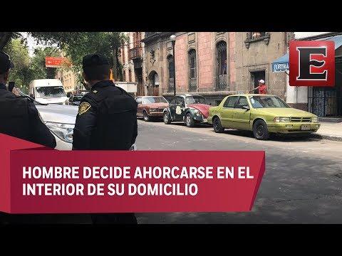 Se suicida joven en la colonia Guerrero
