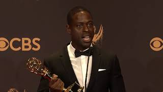 connectYoutube - Sterling K Brown - 2017 Emmys - Full Backstage Speech