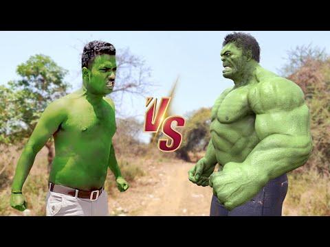 Hollywood Hulk VS Real Life Hulk !