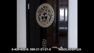Элитные черные глянцевые двери в Днепропетровске(Нigh gloss black doors. Набор высокоглянцевых черных дверей в квартиру заказчика. Вес каждой двери около 60 кг. Толщин..., 2014-04-28T13:34:43.000Z)