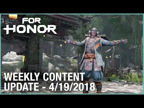 For Honor: Week 4/19/2018 | Weekly Content Update | Ubisoft [NA]