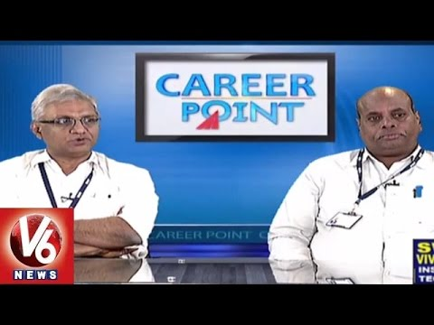 Career Point | Courses in B.Tech | SVIT | Engineering Counselling - V6 News
