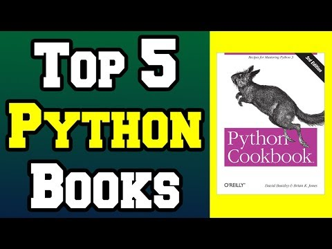 Top 5 Python Programming Books !📚 [4K]