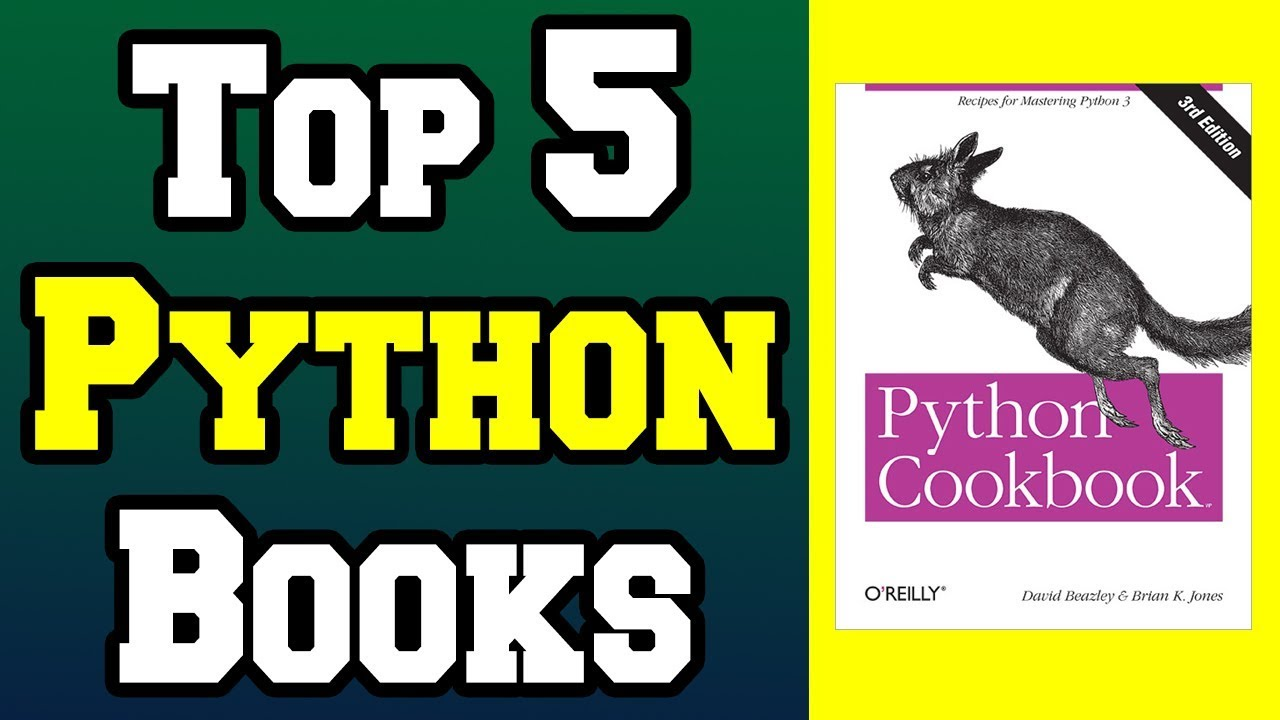 Top 5 Python Programming Books !📚 [4K]