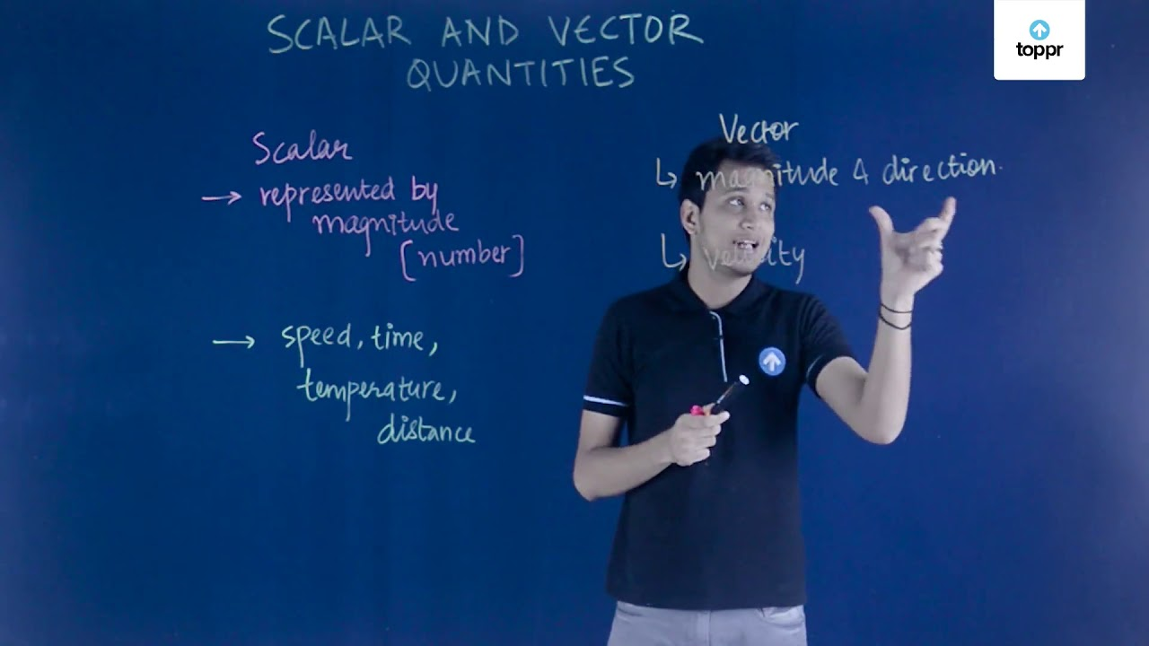 Scalars and Vectors: Definition, Types, Concepts, Videos and
