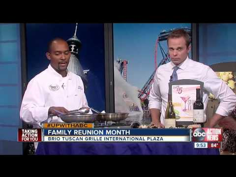 BRIO Tuscan Grille's Chef Ahmed Featured On ABC Action News